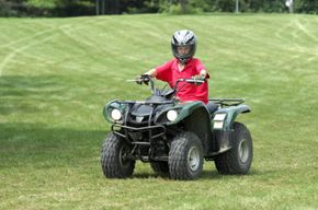 Riding ATVs is fun, but it can be dangerous.