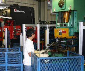 Six hours of pipe shaping goes into the manufacturing of ATVs. See more images of the ATV factory.