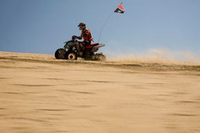 When used responsibly, all-terrain vehicles provide an excellent means of exploring the great outdoors.