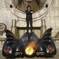 Films like Tim Burton's Batman require extensive editing of audio, including voices and special effects.