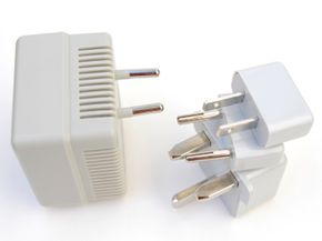 An international power adapter and converter kit makes traveling with your electronic gadgets possible. See more pictures of essential gadgets.