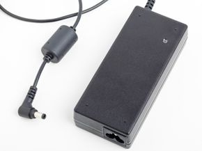 The power cable for your laptop converts AC power to DC power.