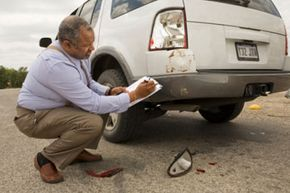 Take down as much information as you can about the accident before filing a claim with an insurance company.