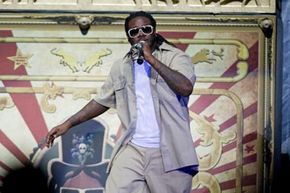 T-Pain is one of the most famous users (or abusers, depending on your outlook) of Auto-Tune.
