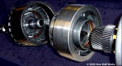 compound planetary gearset