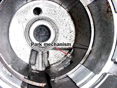 parking brake mechanism
