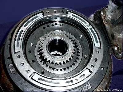 Gear pump from an automatic transmission