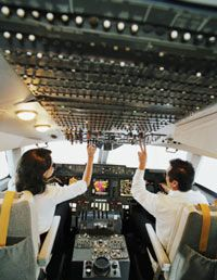 Autopilots can control a plane much more smoothly than human pilots can.