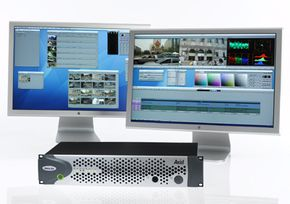 Avid editing machines are the standard in non-linear editing.