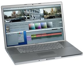 Avid editing machines allow editors to lay down separate tracks for sound and film.