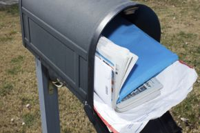 Leaving mail to accumulate in your box makes you an easy target.