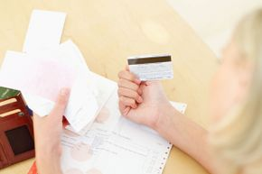 It's a good idea to keep credit cards – and photocopies of them – at home.