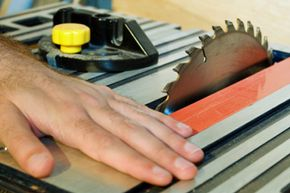 More than 90,000 saw-related injuries occurred in 2001. See more pictures of power tools.