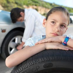 Underinflated tires not only will slow you down -- they're dangerous, too.