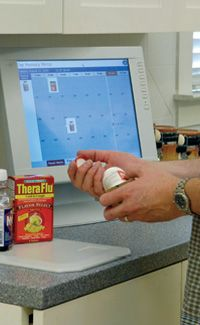 An Aware Home could help you take prescriptions on time.