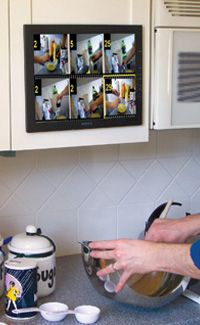 And ensure dinner goes smoothly with a cook's collage.