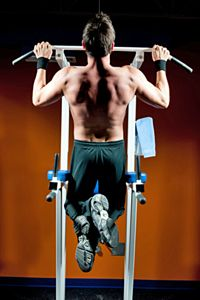 You need strong side and back muscles to counter the increasing strength in your stomach area.