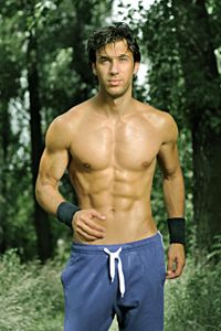 Well-toned abs are a sign of good muscle strength in your torso. That strength improves balance and power.