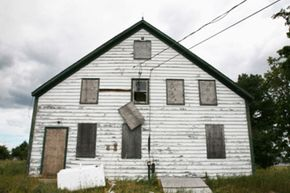 Abandoned homes are more than a blot on the landscape. See more real estate pictures.