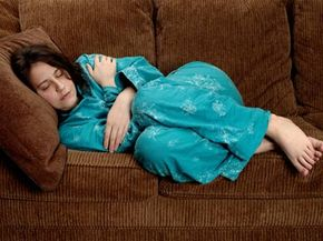 Women are encouraged to rest after an abortion procedure.