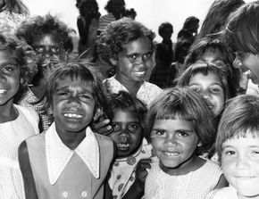 Aboriginal children.