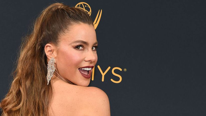 Sofia Vergara arrives for the Emmy Awards on Sept. 18, 2016 in Los Angeles. Vergara plays the bombshell wife of Ed O'Neill on the TV show 'Modern Family' and many would argue her Colombian accent contributes to her sexiness. ROBYN BECK/AFP/Getty Images