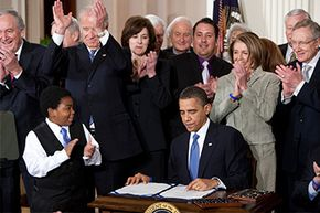 March 23, 2010: President Obama signs into law some serious health care reform.