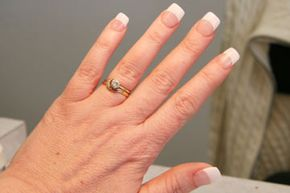 Personal Hygiene Image Gallery Acrylic nails are safe for most people. See more personal hygiene pictures.