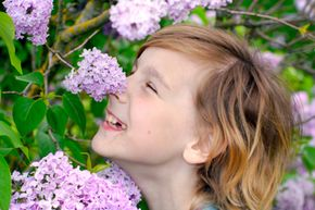 Focus on the other four senses when playing with a visually impaired child.