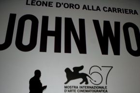 """Chinese filmmaker John Woo is awarded the Golden Lion for lifetime achievement at the 67th Venice Film Festival on Sept. 3, 2010. """"A Better Tomorrow"""" would be the first in a string of successful films for Woo."""