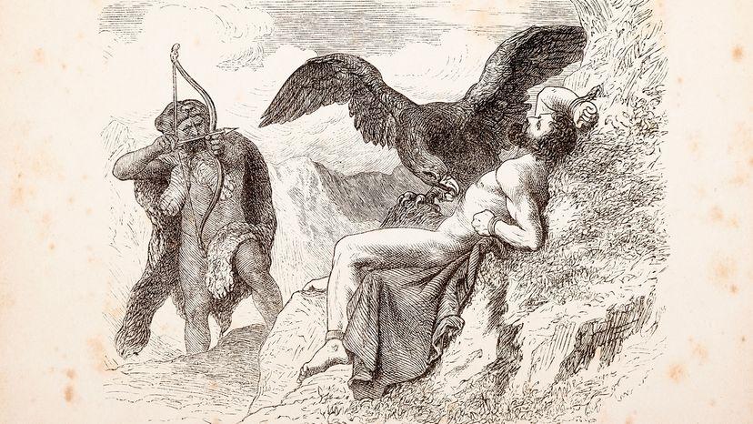 Prometheus, eagle