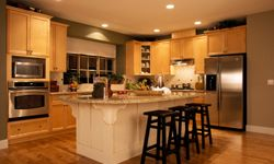 The kitchen can make or break a sale; it should be clean and updated.