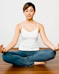 Yoga or meditation can help reduce stress.