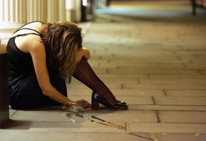 One symptom of addiction is using more of a substance or using