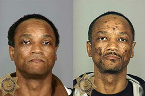 These mug shots show the deterioration of a heroin user between 2003 (L) and 2007. But an addict doesn't have to wait until he is at his worst before treatment will work.
