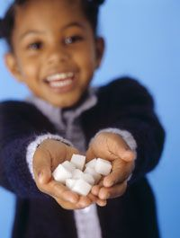 While sugar cubes might rot your teeth, research has shown that sugar doesn't affect behavior.
