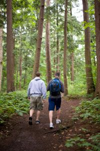 What better way to bond with family members than hiking the Adirondacks?