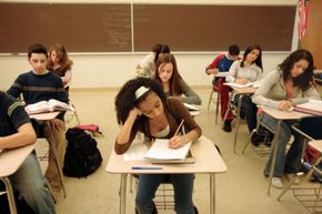 High school counselors often deal with huge caseloads due to slim resources and overcrowded student body.