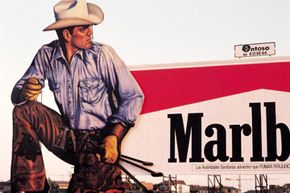 The infamous Marlboro Man ads came under fire in the late '90s after many claimed the character led to kids smoking. See more drug pictures.