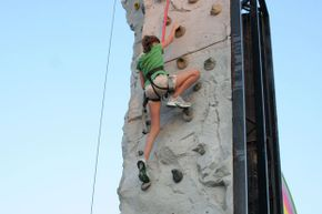 No matter your skill level, you're sure to get a great workout when you scale a climbing wall.