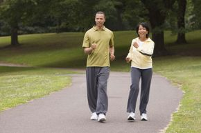 The perfect outdoor exercise space needs a few good walking paths. If they have rolling hills, so much the better!