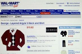 Wal-Mart.com is one of the 10 most popular shopping Web sites, Stores magazine reports.