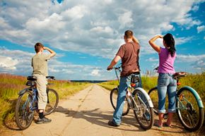Going on a bicycling trip can be a great adventure.