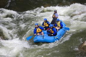 White-water rafting in Colorado