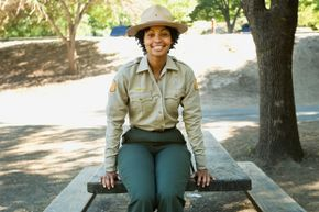 Park rangers help preserve the forests as much as possible, while still allowing us to visit and enjoy them.