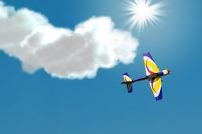 Stunt pilots risk their lives to perform tricks in the sky.