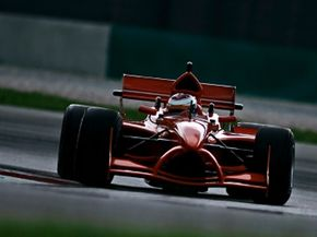 Formula One cars are aerodynamically designed to generate maximum downforce.
