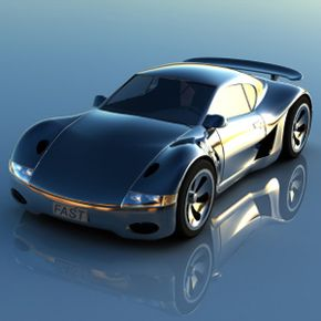 Vehicles with an aerodynamic design tend to be more stable at higher speeds. See more pictures of sports cars.