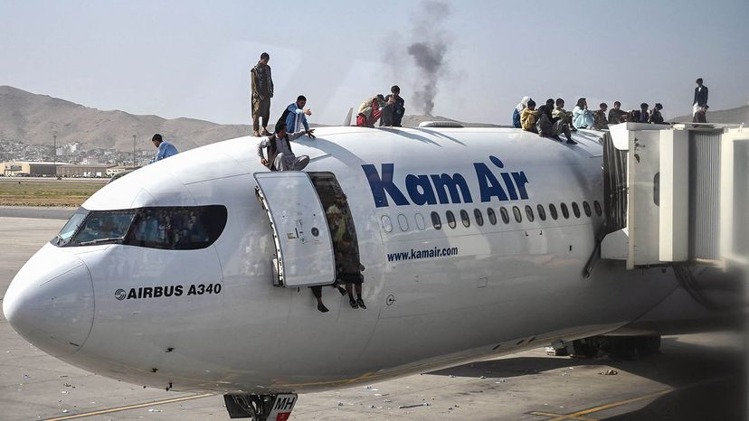 Afghanistan airport falls to Taliban