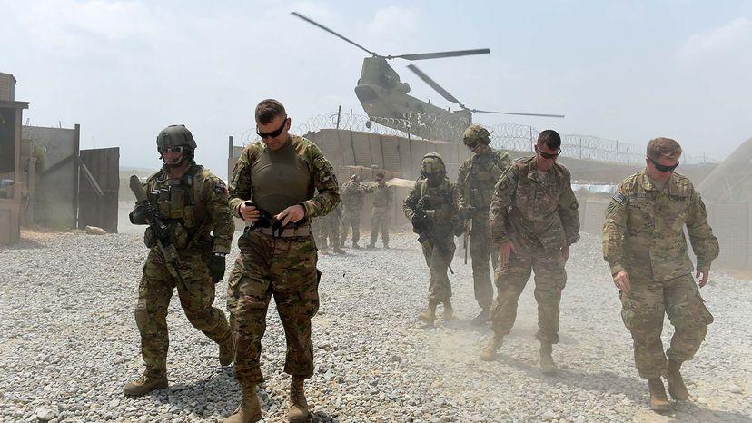 U.S. army in Afghanistan
